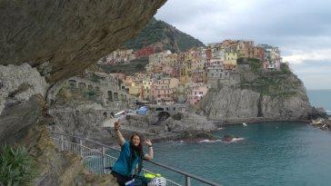 Journée éprouvante mais resplendissante, au « Cinque terre » en Ligurie