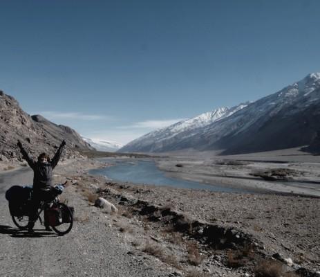 Sur la route, dans la Wakhan valley au Tajikistan