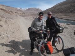 Deux touristes Australiens cyclo aussi !