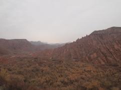 Magnifique paysage avant Karakol