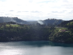 Au lac volcanique Mount Gambier